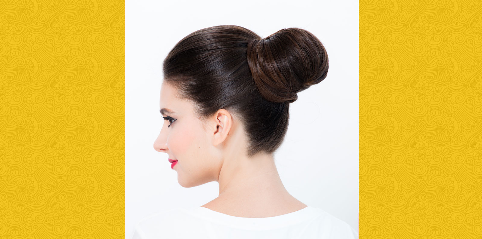 SLEEK BUN