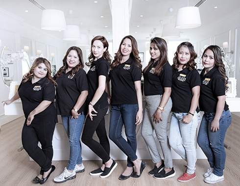 Hair Treatment & Hair Extension Team Of Dubai Salon