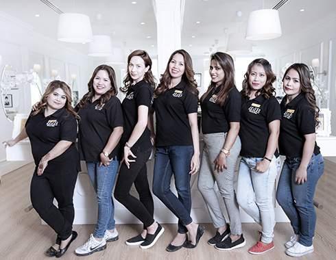 Hair treatment salon in dubai hair extension hair color
