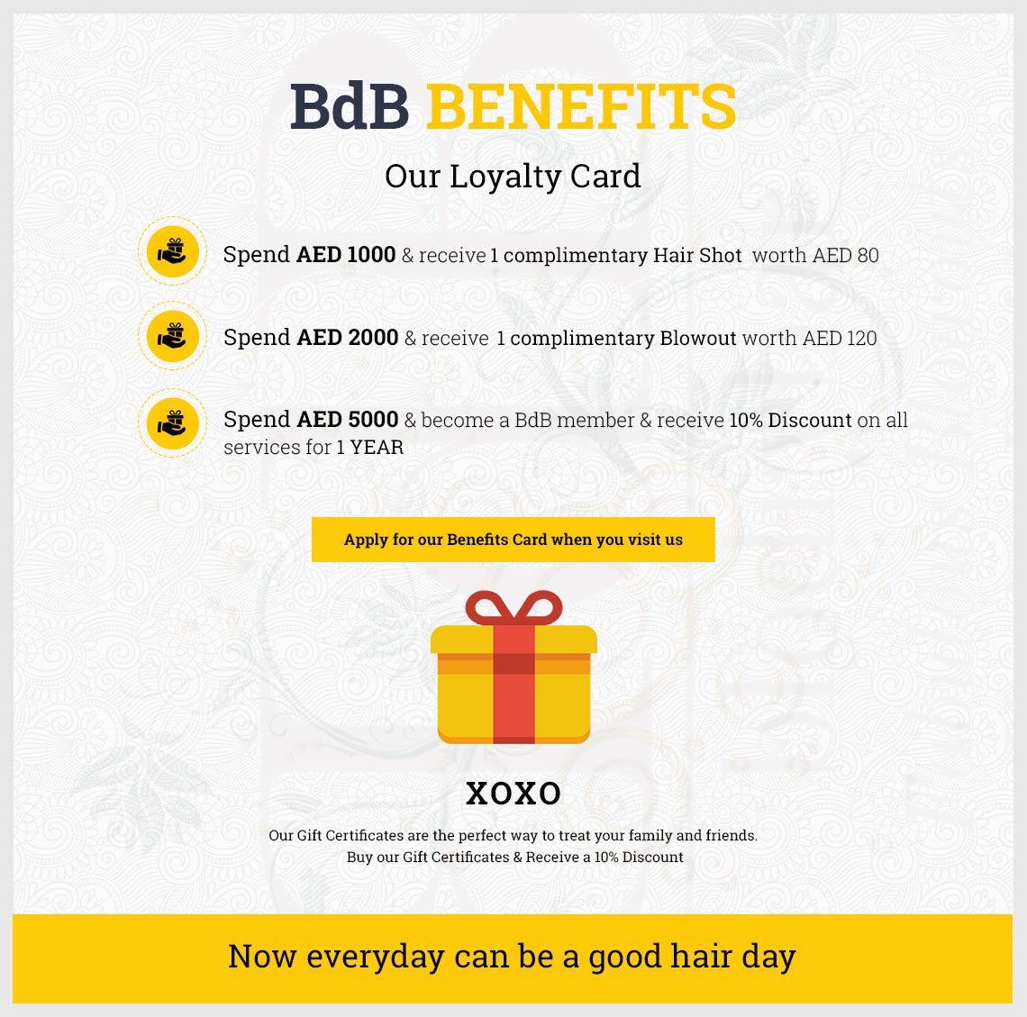 BdB Benefits